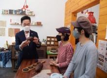 [영천]최기문 영천시장, 청년CEO 운영업체 방문